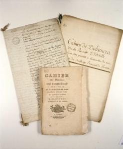 Archives de cahiers de doléances