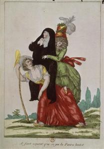 Caricature anonyme des trois ordres de l'Ancien Régime