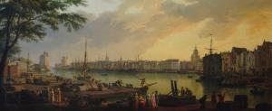 Port de la Rochelle peint par Joseph Vernet, huile sur toile, 1762, Musée de la Marine, Paris