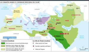 carte-completee-les-conquetes-arabes